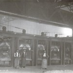 steel furnaces 1917